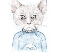 C4| Cat Art 4 by Anya Alexandrova