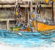 FISH QUAY: PAUSE FOR THOUGHT by Jed Grimes