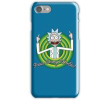 Peace among worlds, Folks! iPhone Case/Skin