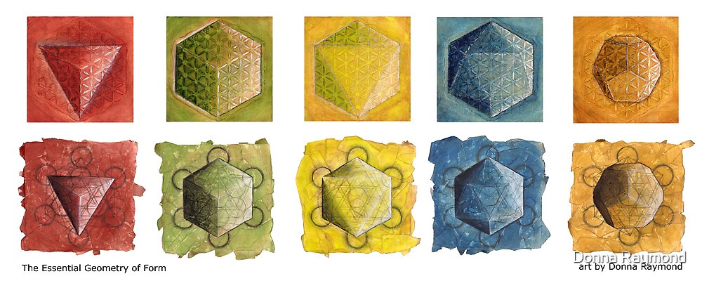 The Essential Geometry of Form by Donna Raymond