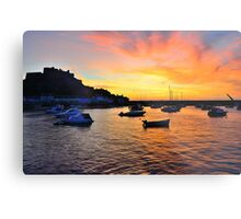 Gorey Harbour Sunrise Metal Print