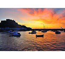 Gorey Harbour Sunrise Photographic Print