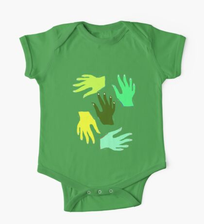 Nature Hands TEE/BABY GROW One Piece - Short Sleeve