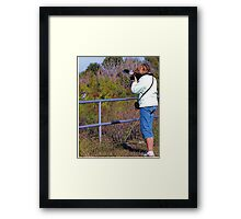 Priceless!  by Larry Baker Framed Print