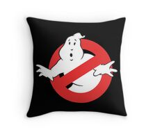 Ain't Afraid of No Ghost Throw Pillow