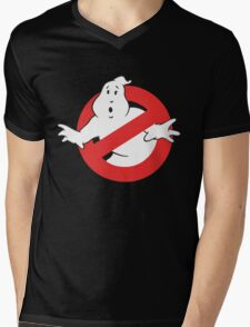Ain't Afraid of No Ghost Mens V-Neck T-Shirt