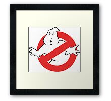 Ain't Afraid of No Ghost Framed Print