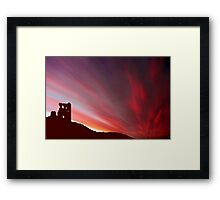 Past Time Travel Framed Print
