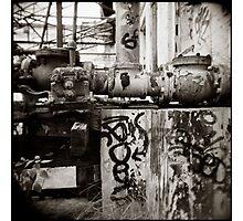 { aged mechanics } Photographic Print