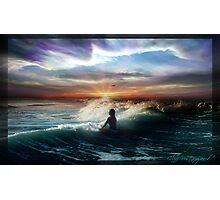 Sunrise Surf Photographic Print