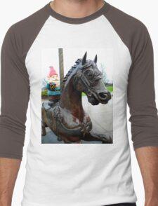 Pony Gnome Men's Baseball ¾ T-Shirt