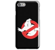 Ain't Afraid of No Ghost iPhone Case/Skin