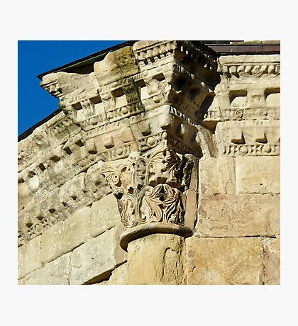 Medieval Stonework Alet-les-Bains Photographic Print
