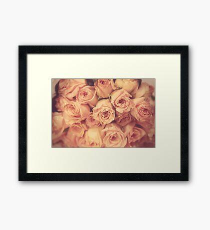 Bridesmaid's Bouquet Framed Print