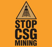 STOP COAL SEAM GAS by Danny Adams