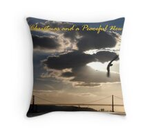 Lisboa Peace - x-mas Throw Pillow