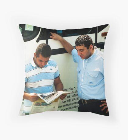 Bus Drivers Throw Pillow