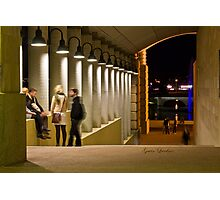 An evening at Bond University Photographic Print