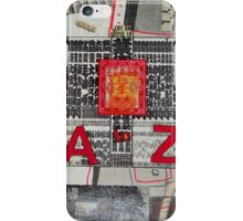 A to Z Mind Map iPhone Case/Skin