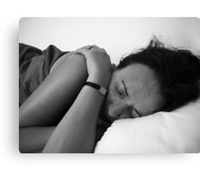 Sleeping Canvas Print