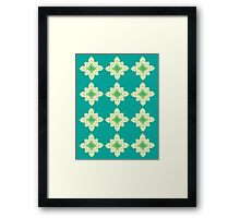 Hops Pattern Framed Print