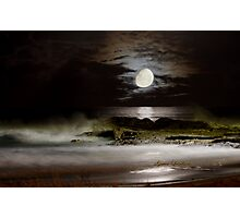 Luna Coastscape Photographic Print
