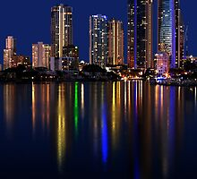 Twilight in Surfers Paradise by flexigav