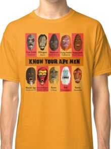 Know Your Ape Men Classic T-Shirt