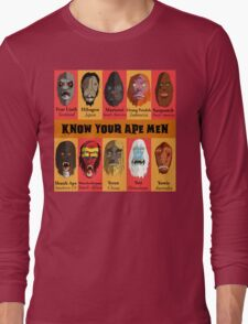 Know Your Ape Men Long Sleeve T-Shirt