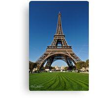Tower Eiffel Canvas Print