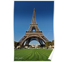 Tower Eiffel Poster