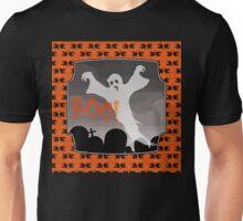 Haunted Graveyard, ghost and tombstones, Halloween Unisex T-Shirt