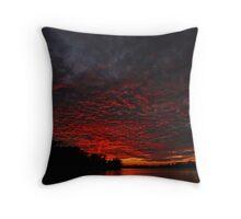 Sky Fire #2 Throw Pillow
