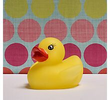 Ta Da a Rubber Ducky. Photographic Print