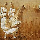 Coffee Chicks by Dianne  Ilka