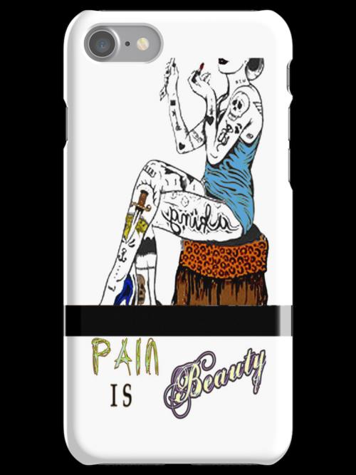 Pain is Beauty by Tiffany Garvey