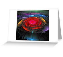 Ragged Rose Greeting Card