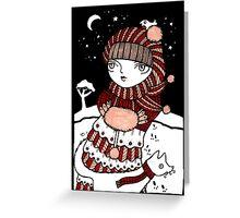 Lumi Kettu Greeting Card
