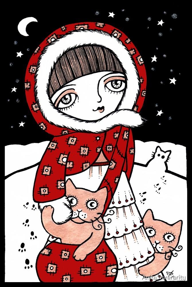 Lumi Kissat by Anita Inverarity