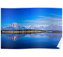 Mirror at Jackson Lake Poster