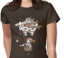 Millies Moo Mobile Womens Fitted T-Shirt