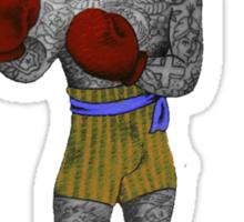Vintage Boxer Sticker