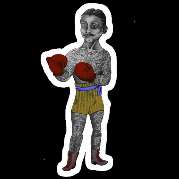Vintage Boxer by Tiffany Garvey