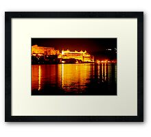 City Palace, Udaipur Framed Print