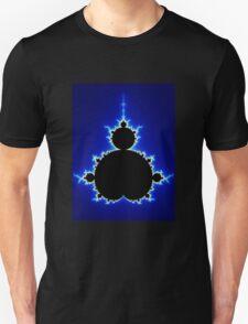 Mandelbrot Set - Blue T-Shirt