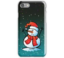 Angry Snowman iPhone Case/Skin
