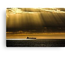 Shafts of Yellow Rays Canvas Print