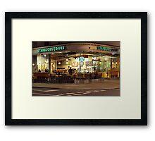 Starbucks Kensington Framed Print