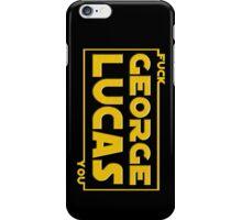 F*ck You, George Lucas iPhone Case/Skin