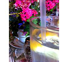 Relax in a Tea Room Photographic Print